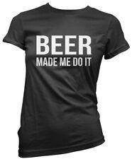 BIRRA fatta ME DO IT-Birra Ale BERE Regalo Da Donna T-shirt