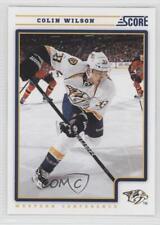 2012-13 Score #277 Colin Wilson Nashville Predators Hockey Card