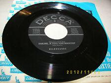 Hildegarde Lili Marlene / Darling, Je Vous Aime Beaucoup 45 EX Decca 9-29158