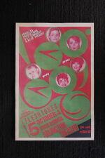 93555 The Go Goes 1981 tour Santa Barbara Fleshtones Decor WALL PRINT POSTER FR