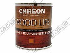 CHREON - WOOD LIFE FINITURA LUCIDA - TINTE CARTELLA - 3 lt - PER LEGNO