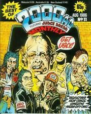 Best of 2000 AD MONTHLY # 11 (Judge Dredd & others) (Magazine, UK, 1986)