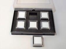 Astuccio scatola espositore 3 o 6 scatoline pietre  preziose diamanti diamond