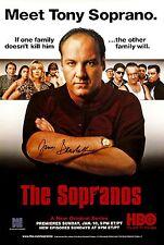 The Sopranos Signed Poster |4 Sizes| james gandolfini frame box set DVD BluRay