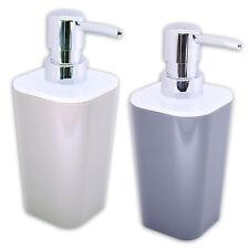 Seifenspender Flüssigseifenspender Dosierer für Seife Flüssigseife GRAU + SAND