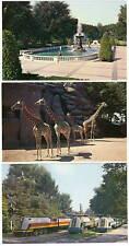 Lot of 6 Postcards Childrens Zoo Belle Isle Detroit Mi