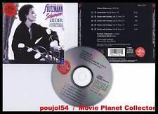"""SCHUMANN """"Lieder , vol.2"""" (CD) Nathalie Stutzmann 1994"""