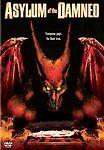 ASYLUM OF THE DAMNED rare Horror dvd EVIL CREATURE INSANE ASYLUM Tiny Lister