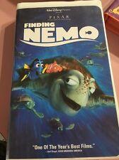 Finding Nemo 1st edition Disney (VHS, 2003) #30081