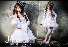 lolita fairy GOTH Princess diary Love Serenade petite ball gown dress HA145 W