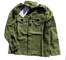 ZADIG & VOLTAIRE chemise army kaki camouflage 128 134 140 146 152 158 164 170 176