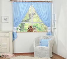Bobono Kinderzimmer Gardinen Vorhänge Little Prince Princess Krone 155x155cm