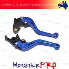 For YAMAHA YZF-R1 R6 YZF R1 R6 Clutch Brake FINGER SHORT Adjustable BLUE LEVERS