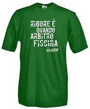 T-Shirt Sport calcio F14 Rigore � quando arbitro fischia. Vujadin Boskov