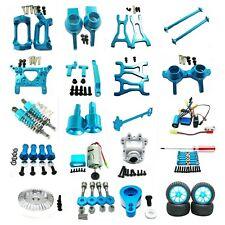 Aluminum Metal Upgrade Parts DIY For WLtoys 1/18 A959 A969 A979 K929 Rc Car blue