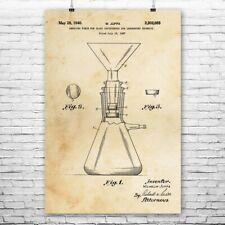 Buchner Flask Poster Print Professor Gift Chemistry Art Teacher Gift Science Art