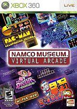 NAMCO MUSEUM XBOX 360! PAC MAN, DIG DUG, GALAGA, GALAXIAN, POLE POSITION, FAMILY