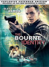 The Bourne Identity (Full Screen Extended Edition) Matt Damon, Franka Potente,