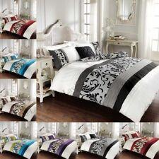 Scorrere Stile Vintage copripiumini Trapunta Copre reversibile set di biancheria da letto tutte le dimensioni