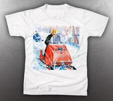 VINTAGE MOTO-SKI 1966 BROCHURE TEE-SHIRT LIKE NOS