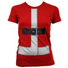 Mrs Santa Claus Nikolaus Christmas Weihnachten Anzug Kostüm Frauen Women T-Shirt