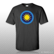 Royal Malaysian Air Force Roundel T-Shirt Tee Shirt Free Sticker RMAF Malaysia