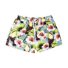 Geronimo Da Uomo Fiori Sport Nuoto Pantaloncini Nuoto Pantaloncini Spiaggia giallo con fiori