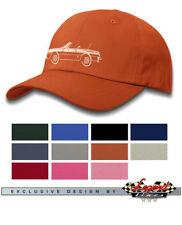 Alfa Romeo Spider Veloce Convertible 1970 - 1982 Baseball Cap - Multiple Colors