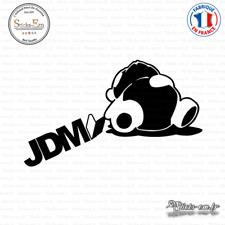 Sticker JDM Sleepy Panda Decal Aufkleber Pegatinas D-389 Couleurs au choix