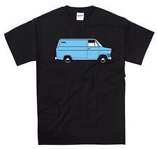 Transit Van Mk1 Camiseta Camionero Conductor gasolina cabeza clásico estilo vintage y retro tee