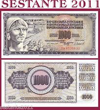YUGOSLAVIA  1.000 1000   DINARA 1981   P  92d   FDS / UNC
