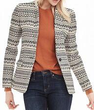 NWT $198 Banana Republic Jacquard Cotton Blend Jacket