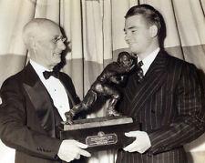 Nile Kinnick - Iowa 1939 Heisman Trophy Presentation, 8x10 B&W Photo