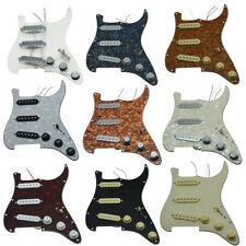 Various Custom Loaded Strat Pickguard Prewired ST Pickguard with Ceramic Pickups