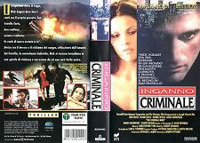 INGANNO CRIMINALE (1993) VHS
