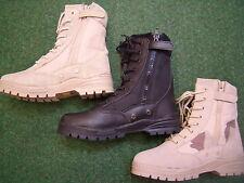 Neu Kampfstiefel Patriot beige schwarz  BW Stiefel outdoor Boots Arbeitsschuh