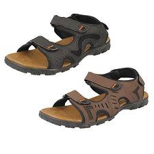 hommes A0041 noir / sandales marron par MAVERICK détail prix