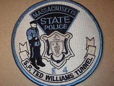 TED WILLIAMS  TUNNEL BOSTON MASSACHUSETTS STATE POLICE