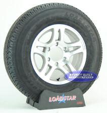 """Boat Trailer Tire by LoadStar ST 225/75R15 Aluminum Split Spoke Wheel 15"""" Rim"""