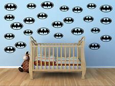 14 X Pegatinas Niños Guardería Niños Bat calcomanías de habitación RUI56A Reino Unido