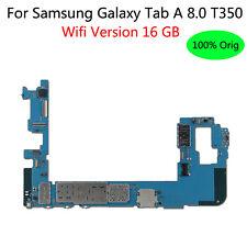 Original For Samsung Galaxy Tab A 8.0 T350 Wifi 16 GB  Mainboard Logic Board