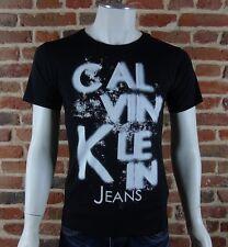 Tee shirt Calvin Klein Homme manches courtes TOBIAS J3IJ300018 noir