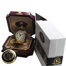 Birthday Custom Engraved Personalised Star Sign Zodiac Pocket Watch Cancer Leo