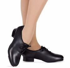 Leo's Quantum J.T. Leather Tap Dance Shoes, Black, RUNS SMALL, NIB