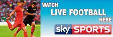 Sky Sports Live Football PVC Printed Banner