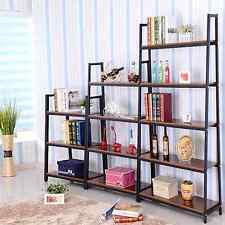 Metal Home Decorator Bookcase Bookshelf Shelving Choose 3,4,5 Tier Shelf