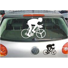 AUFKLEBER Schatten Rennrad Fahrrad Tour de France Sport Sticker Folie Deko