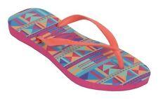 7f0a3c78dc2e Havaianas SLIM GRAPHIC Fuchsia Orange Mint Geometric Sandals Women s Flip  Flops