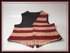 American Flag Waistcoat | Vest | Coat  Stars n Stripes