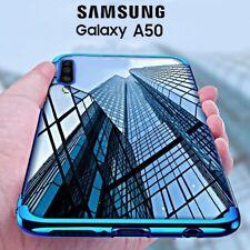 COVER per Samsung Galaxy A50 CUSTODIA ELECTRO Case + PELLICOLA VETRO TEMPERATO